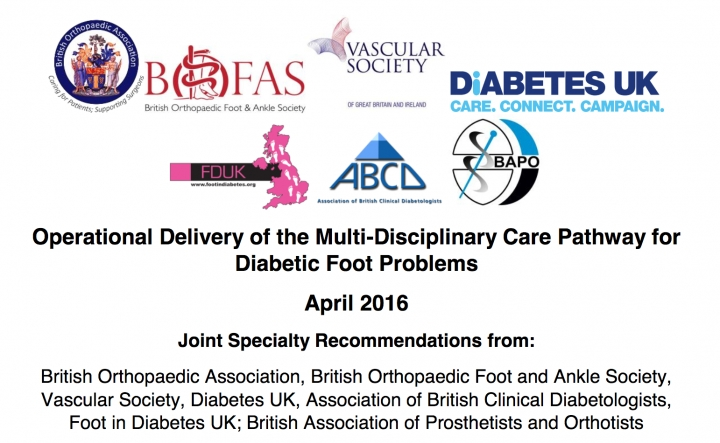 Improving care for patients with diabetic foot disease