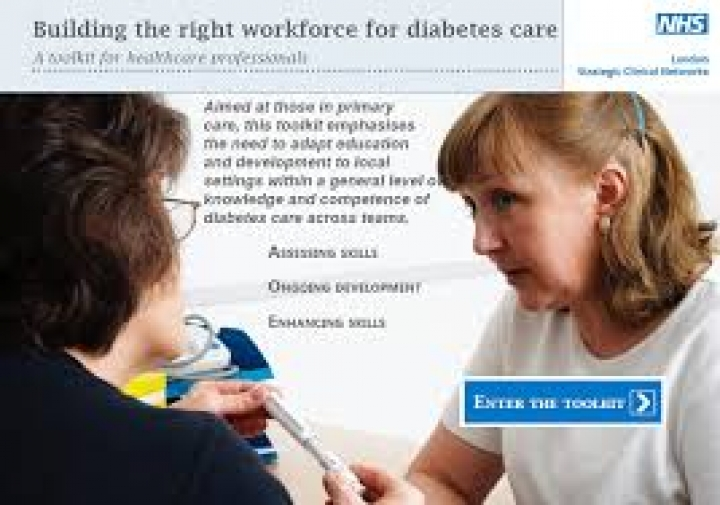 Building the right workforce for diabetes care - A toolkit for healthcare professionals