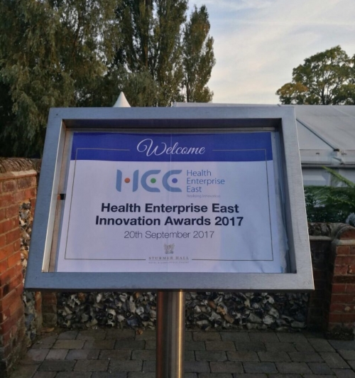 CDEP: 1st runner-up in the 2017 HEE Innovation Awards!