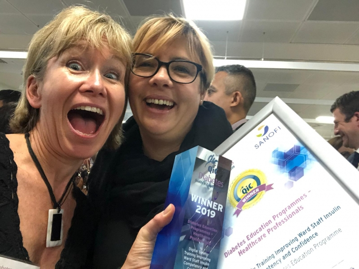CDEP wins awards at the Diabetes Quality in Care (QiC) Awards 2019