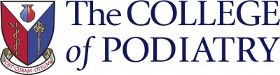 The college of podiatry logo rgb